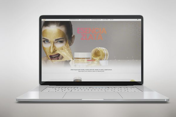 Web zlatamaska.sk