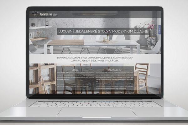 Web jedalenske-stoly.sk